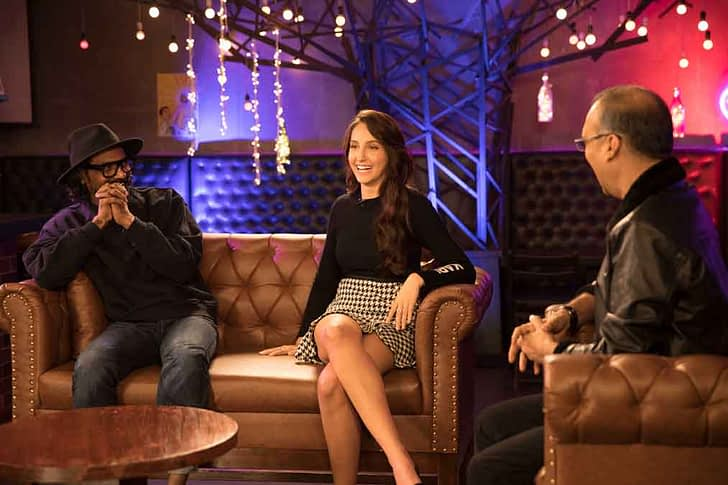 Nora Fatehi, Remo D'Souza and Komal Nahta on Starry Nights GEN Y